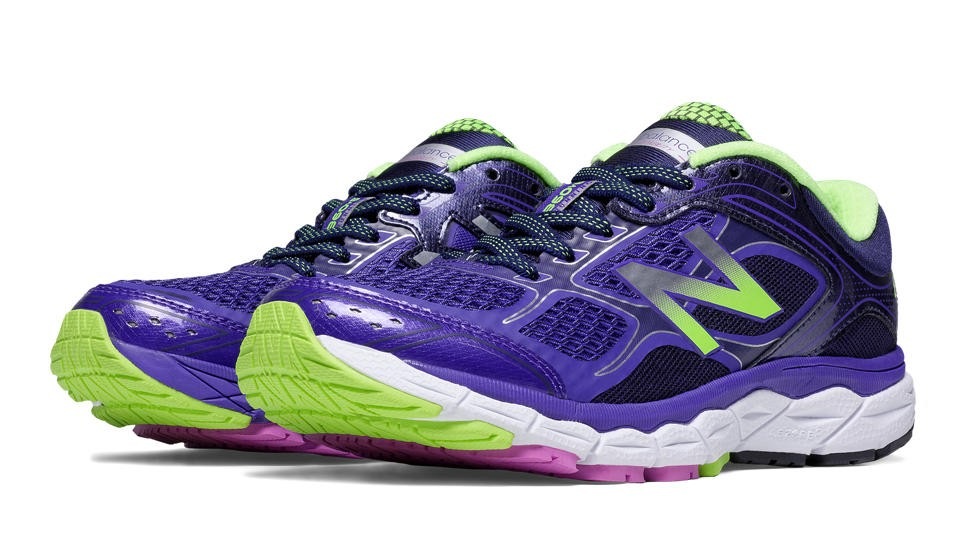 New Balance 860v6 para mujer violeta/Lime_003