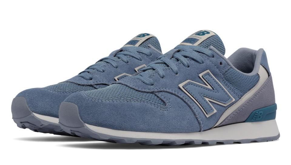 New Balance 996 Textile para mujer azul Rain/Steel_013