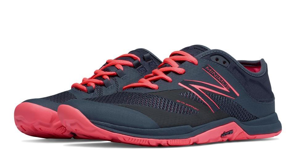 New Balance Minimus 20v5 Trainer para mujer rosa/gris oscuro_002