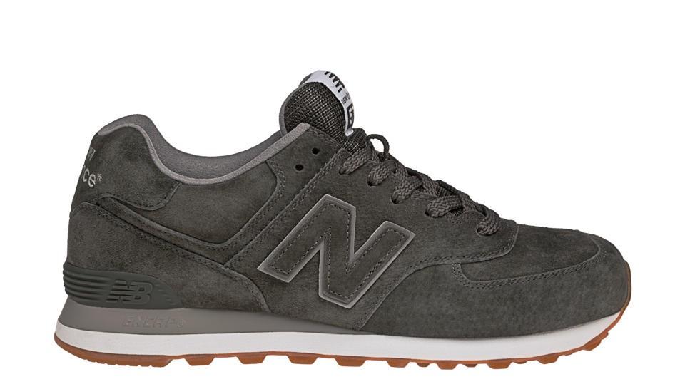 New Balance Gum Pack 574 para hombre negro_078