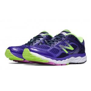 New Balance 860v6 para mujer violeta/Lime_010