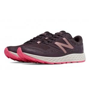 New Balance Fresh Foam Gobi Trail para mujer gris oscuro/rosa_022