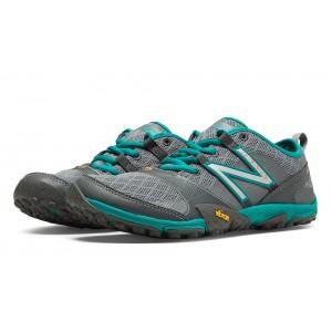 New Balance Minimus 10v3 Trail para mujer Gris/Verde/Azul_007