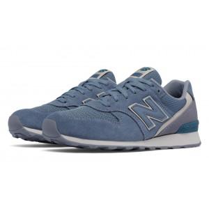 New Balance 996 Textile para mujer azul Rain/Steel_002