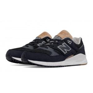 New Balance 530 NB gris para mujer negro/marrón_008