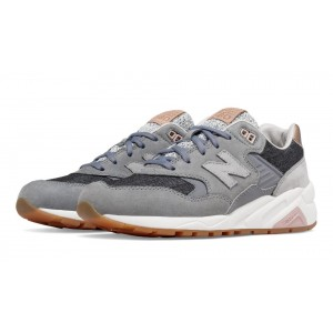 New Balance 580 NB gris para mujer Gunmetal/plata Mink_009