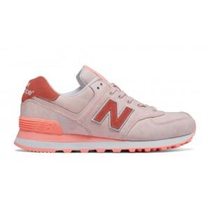 New Balance 574 Textile para mujer rosa/Diva rosa/blanco_013