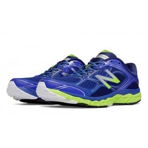 New Balance 860v6 para hombre azul/Lime verde_034