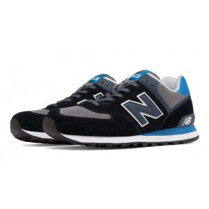 New Balance 574 Core Plus para hombre negro/azul/gris_003
