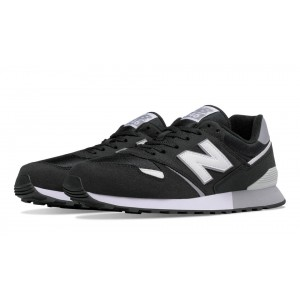New Balance Unisex 446 80s Running negro/blanco_024