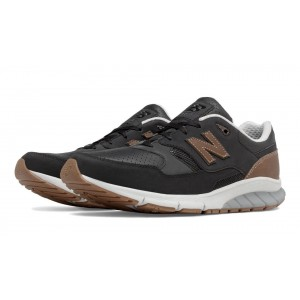 New Balance 530 Vazee Leather para hombre negro/Tan_028