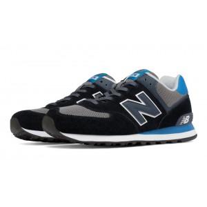 New Balance 574 Core Plus para hombre negro/azul/gris_005