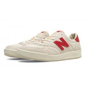 New Balance 300 Vintage para hombre Blanco/Rojo_017