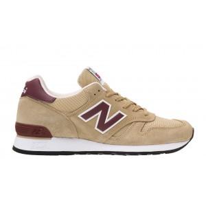 New Balance 670 Made in UK para hombre Beige/Burgundy_024