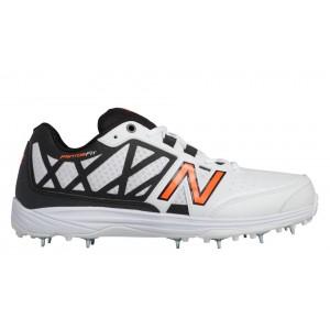 New Balance 10V2 Minimus Cricket para hombre blanco/naranja/negro_002