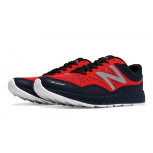 New Balance Fresh Foam Gobi Trail para hombre negro/naranja_022