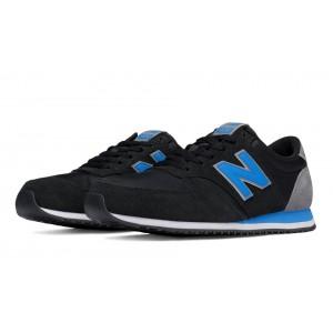 New Balance Unisex 420 70s Running Textile negro/azul_007