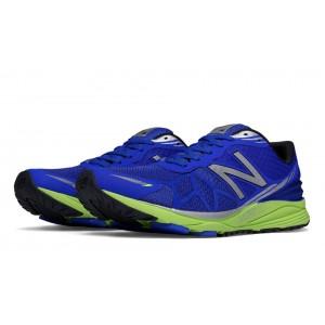 New Balance Vazee Pace para hombre azul/Lime verde_055