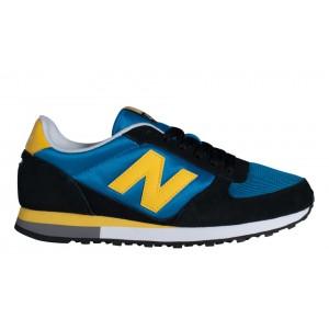 New Balance Unisex 430 Negro/Azul/Amarillo_003