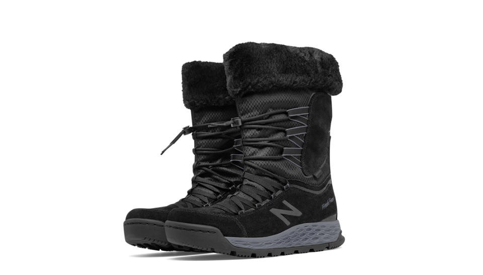 New Balance Fresh Foam 1000 Boot para mujer negro/gris_002