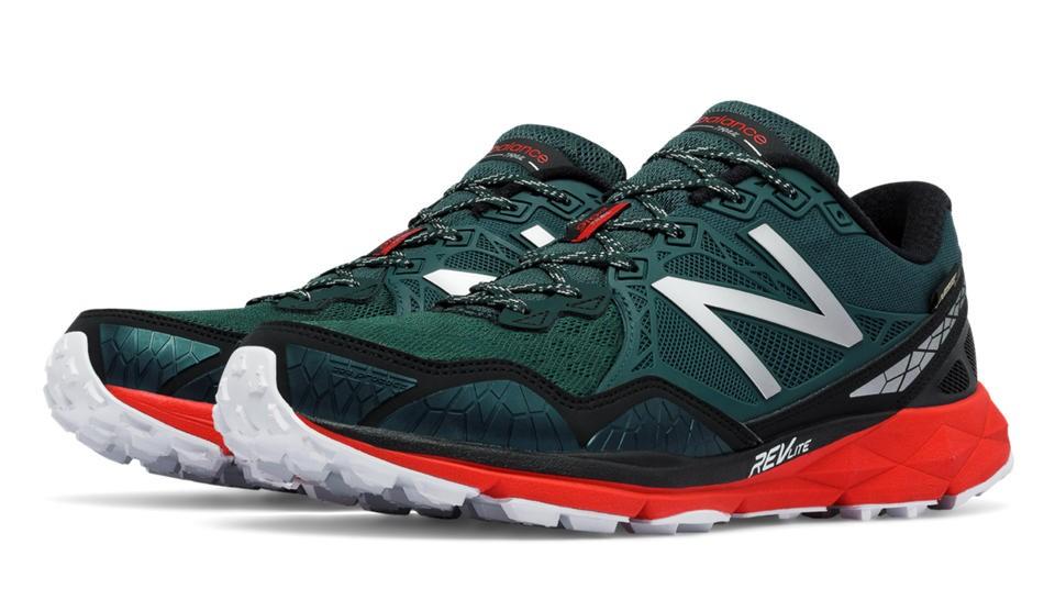 New Balance 910v3 Trail Gore Tex® para hombre Dark verde/rojo/negro_043