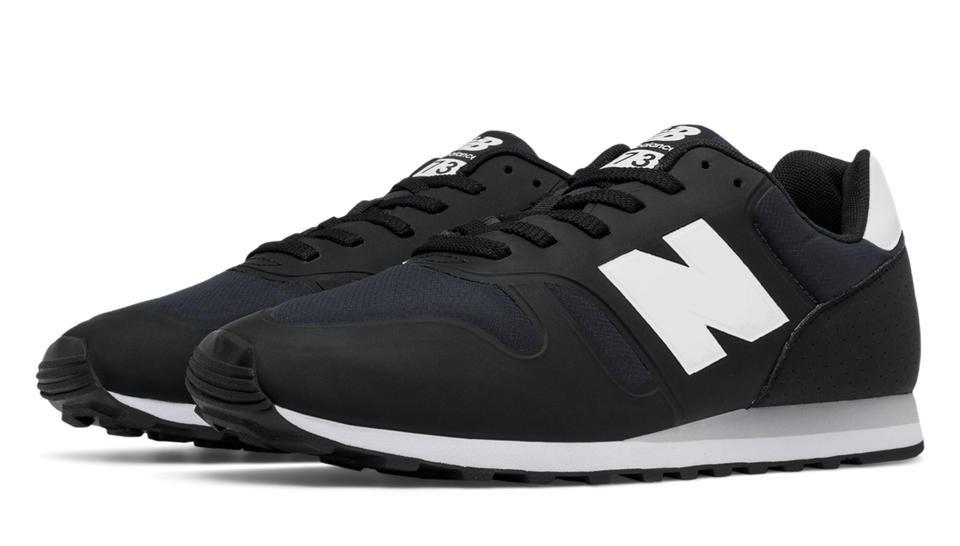 New Balance 373 Nylon para hombre negro/blanco_047